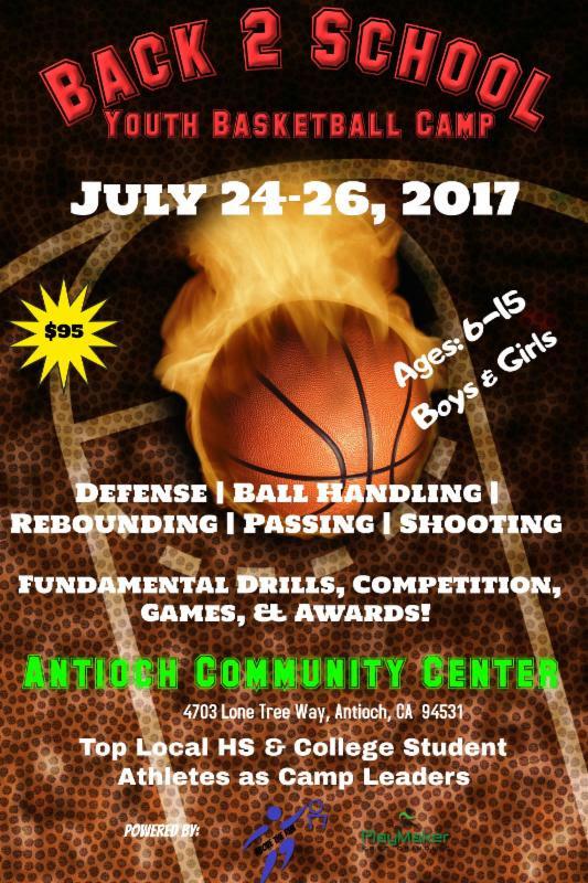 Back 2 School Youth Basketball Camp